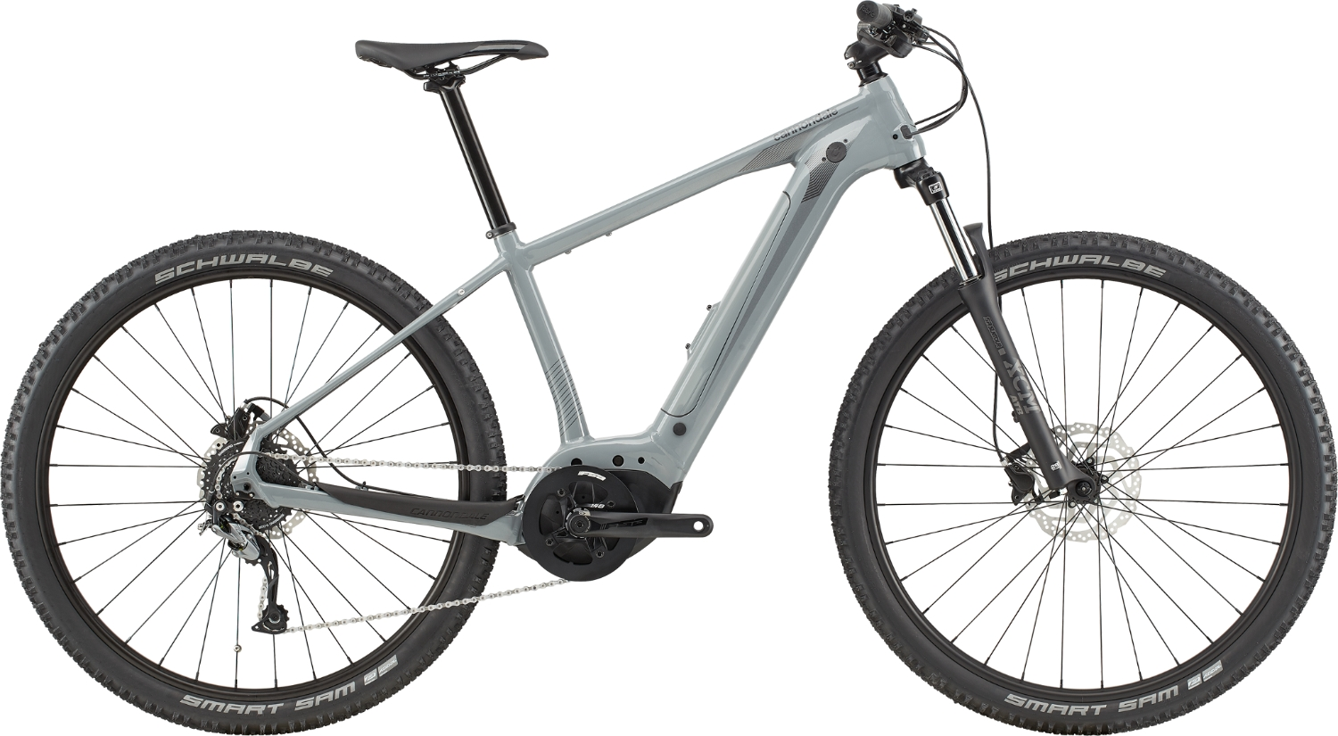 Bicicleta electrica Cannondale Trail Neo 3 Argintiu 2020 imagine