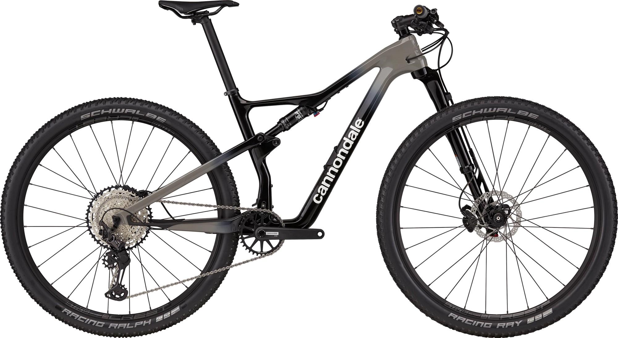 Bicicleta de munte full-suspension Cannondale Scalpel Carbon 3 Negru 2021 imagine