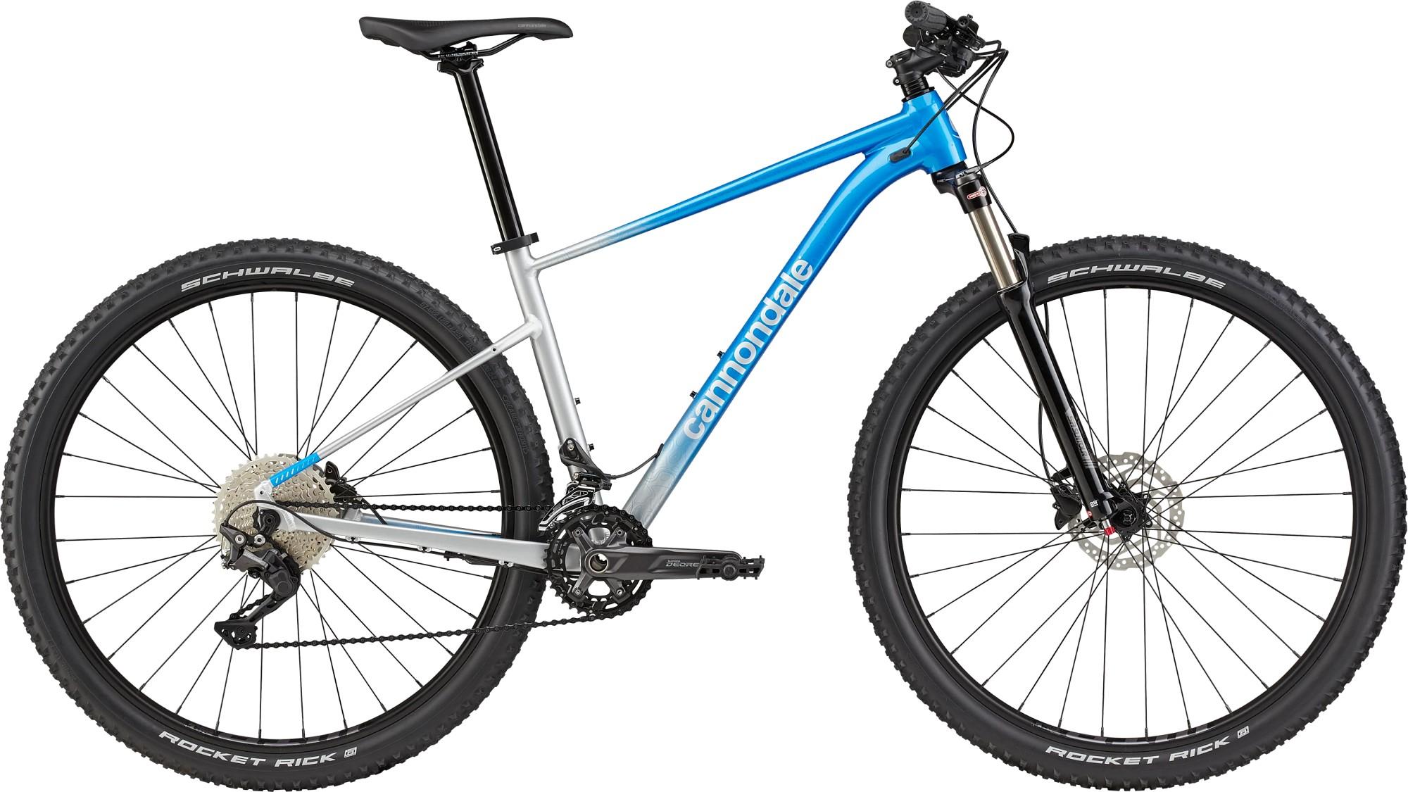 Bicicleta de munte hardtail Cannondale Trail SL 4 Albastru electric 2021 imagine