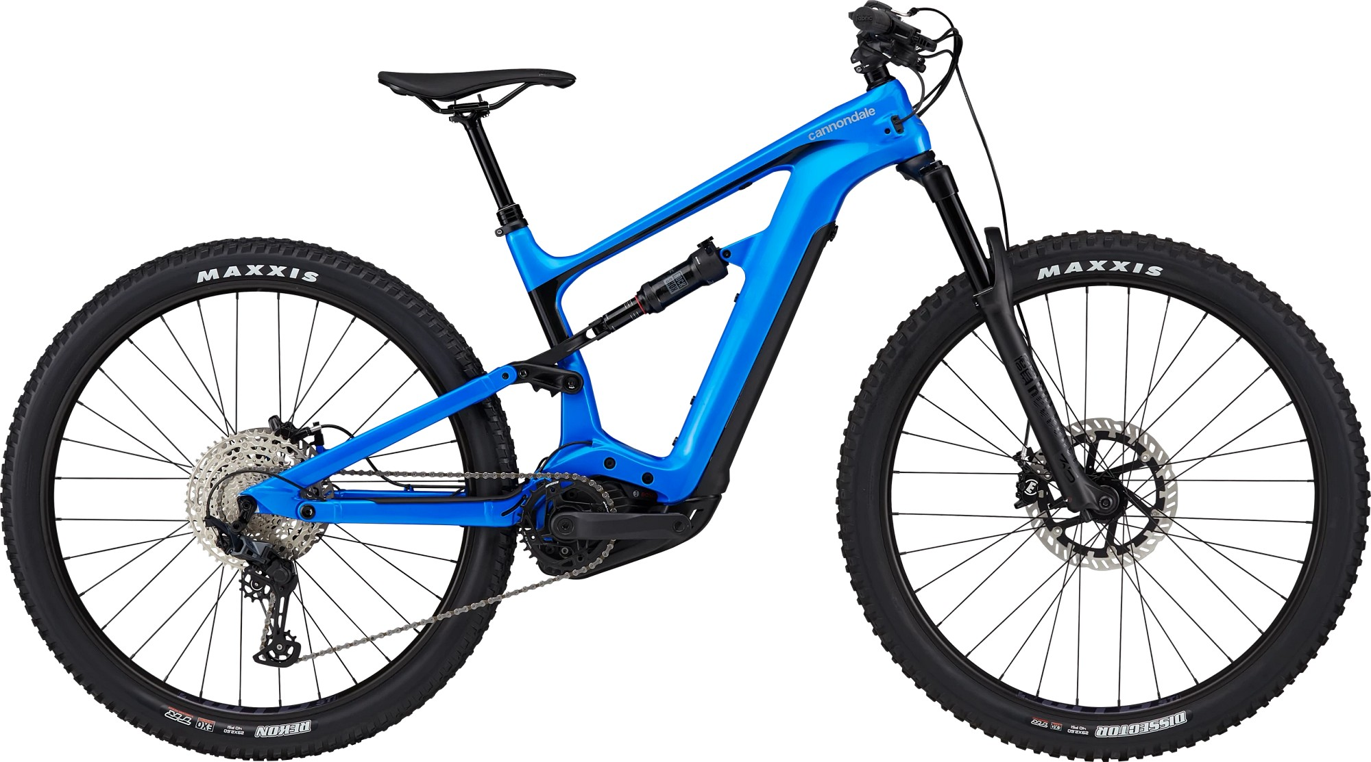 Bicicleta electrica Cannondale Habit Neo 3 Albastru electric 2021 imagine