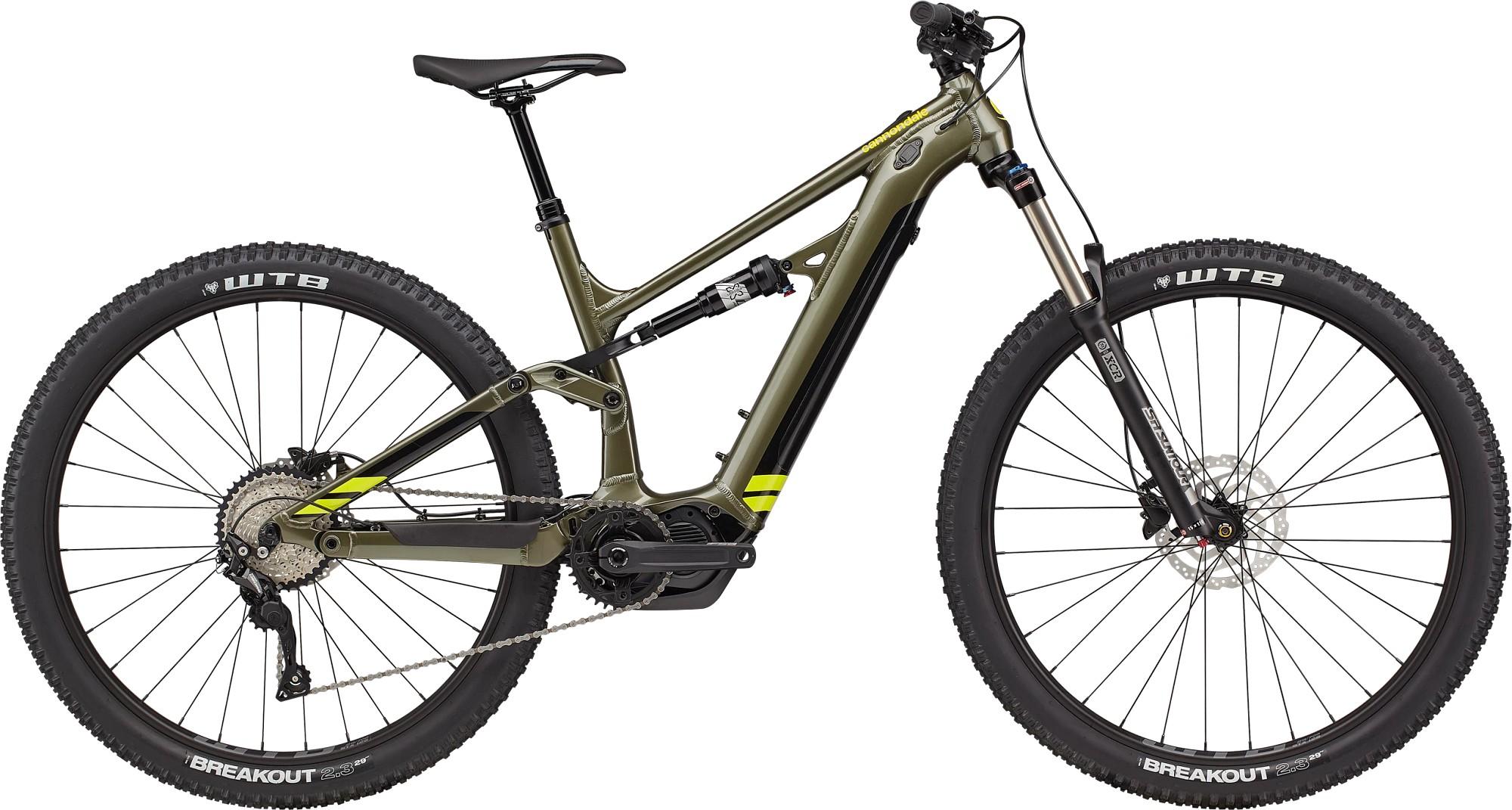 Bicicleta electrica Cannondale Moterra Neo 5 Verde mantis 2021 imagine