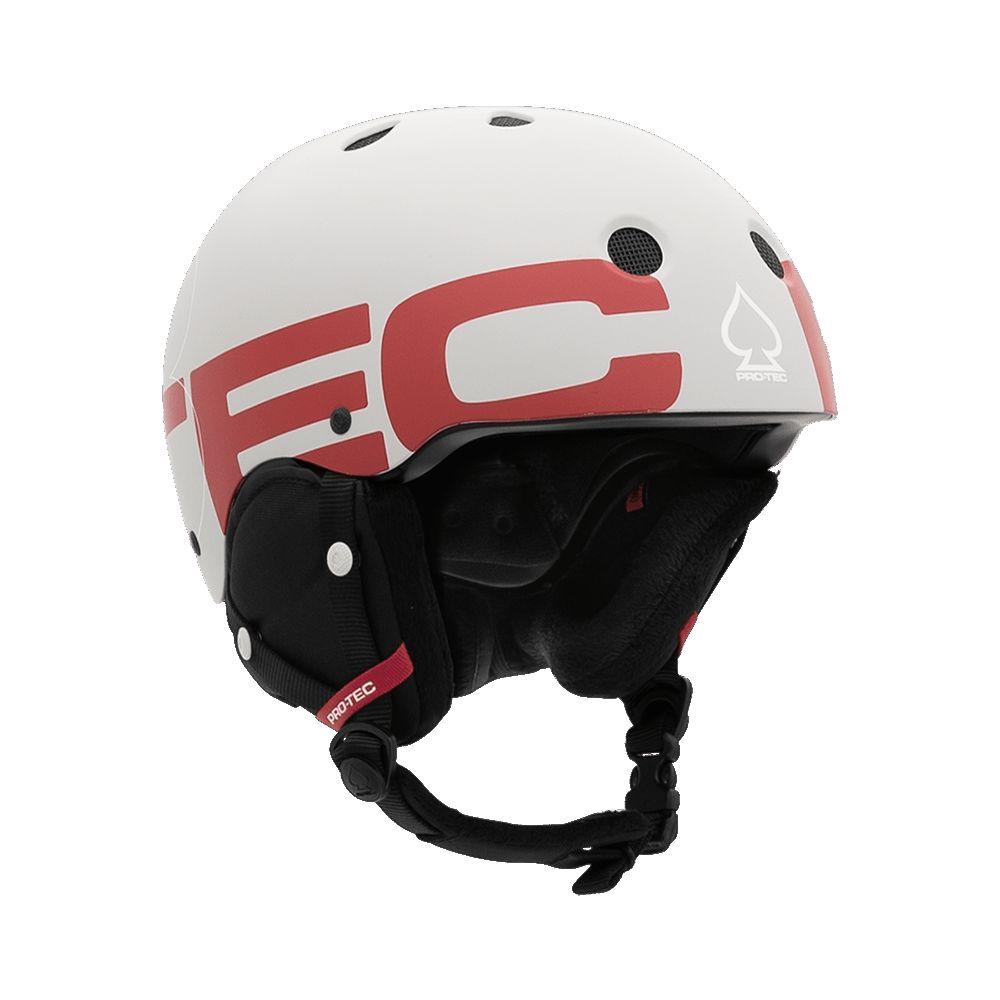 Casca schi/snowboard unisex Pro-tec Classic Certified Snow Big Logo Alb imagine