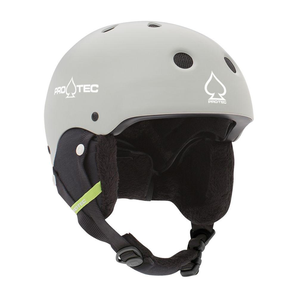 Casca schi/snowboard unisex adulti Pro-Tec Classic Certified Snow Gri deschis imagine