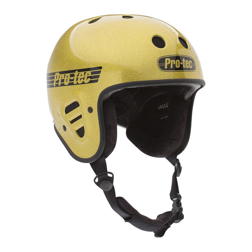 Casca schi/snowboard unisex adulti Pro-Tec Full Cut Certified Snow Gold Flake Auriu imagine