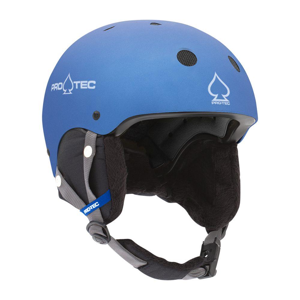 Casca schi/snowboard copii Pro-Tec JR. Classic Certified Snow Albastru metalizat imagine