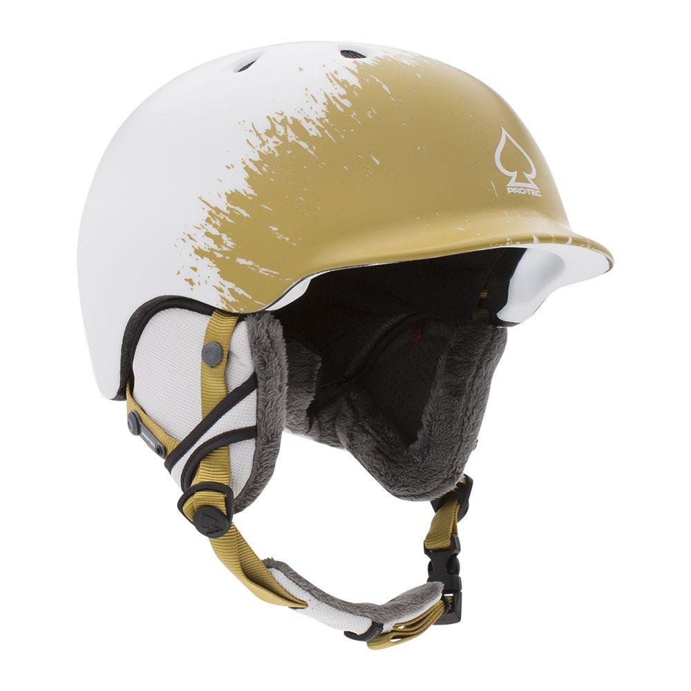 Casca schi/snowboard unisex adulti Pro-Tec Riot Certified Snow Fade Alb/Crem imagine