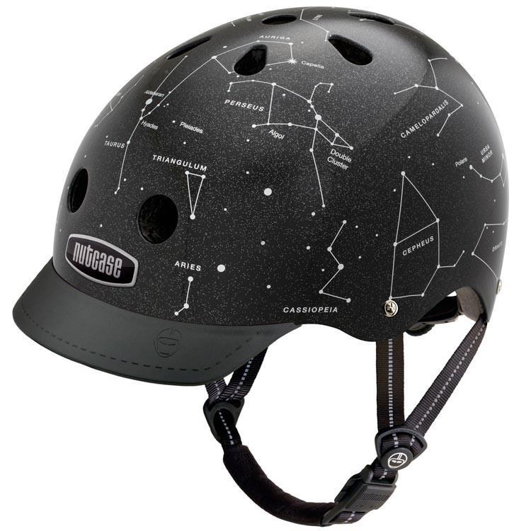 Casca protectie unisex Nutcase Constellations Street Negru 2018 imagine