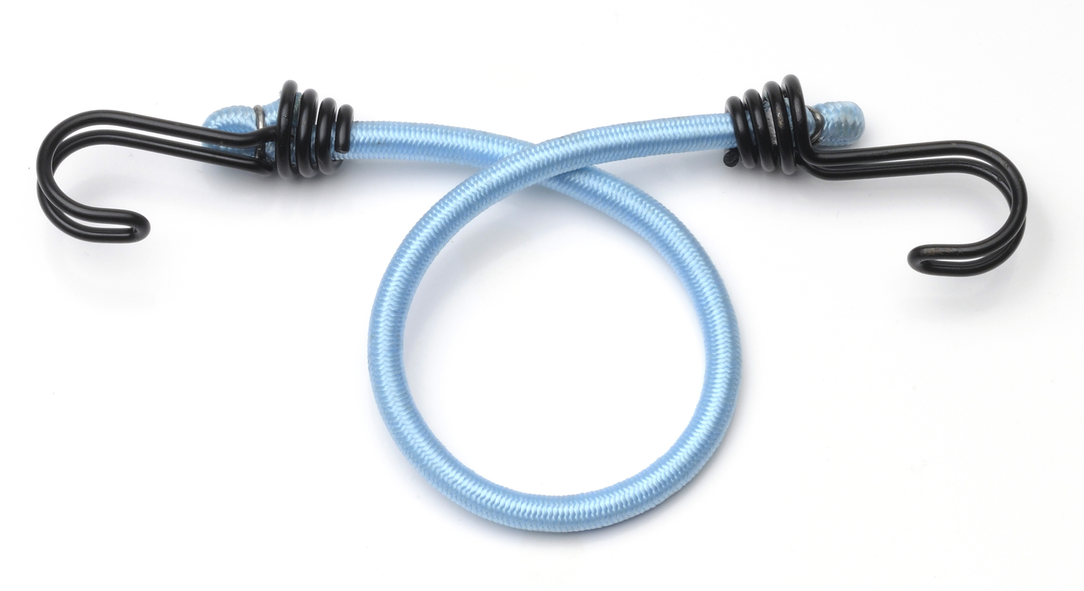 Set x2 coarda elastica dubla MasterLock cu carlig 45cm x 8mm imagine
