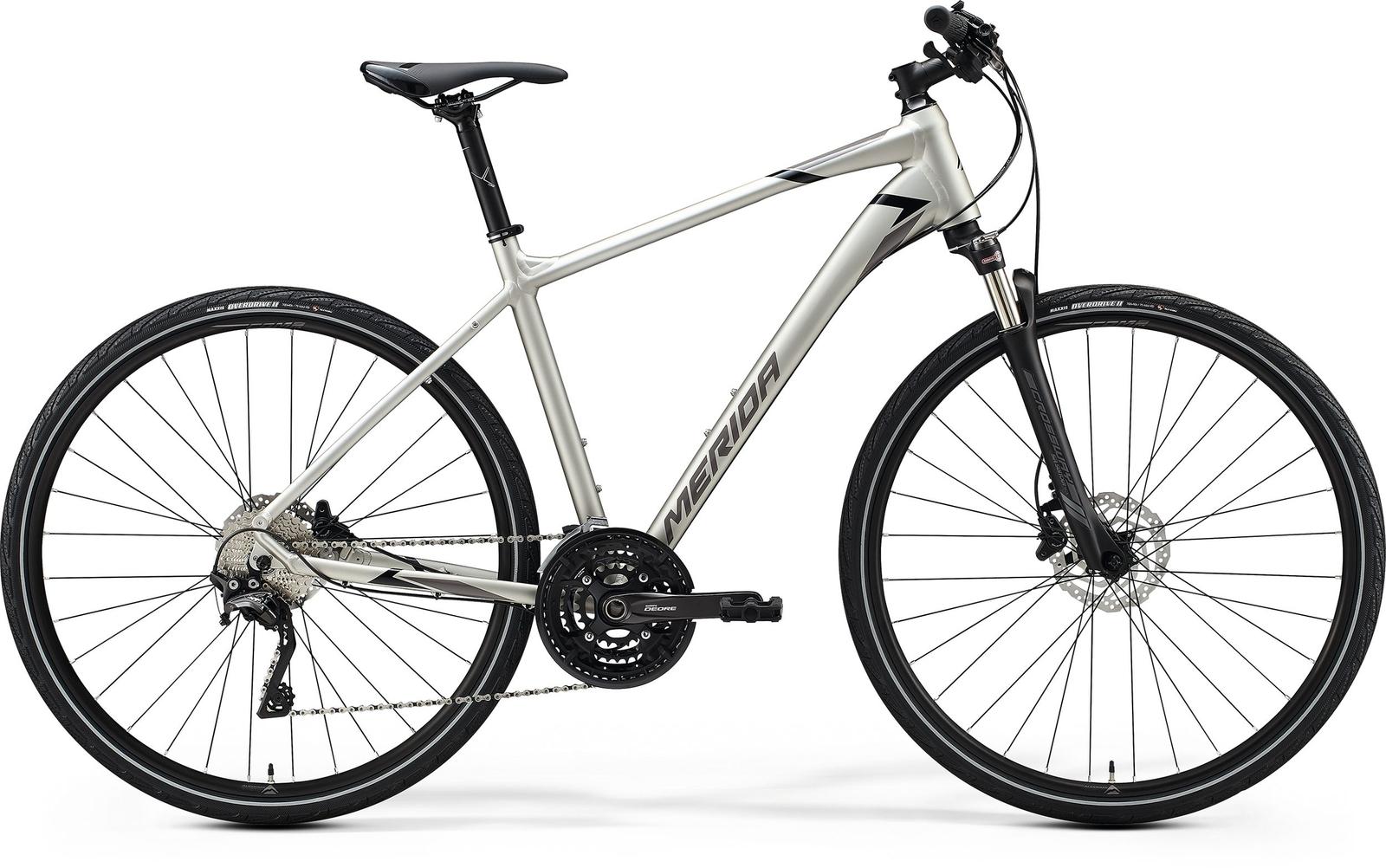 Bicicleta de trekking/oras barbati Merida Crossway 600 Titan/Negru 2020 imagine