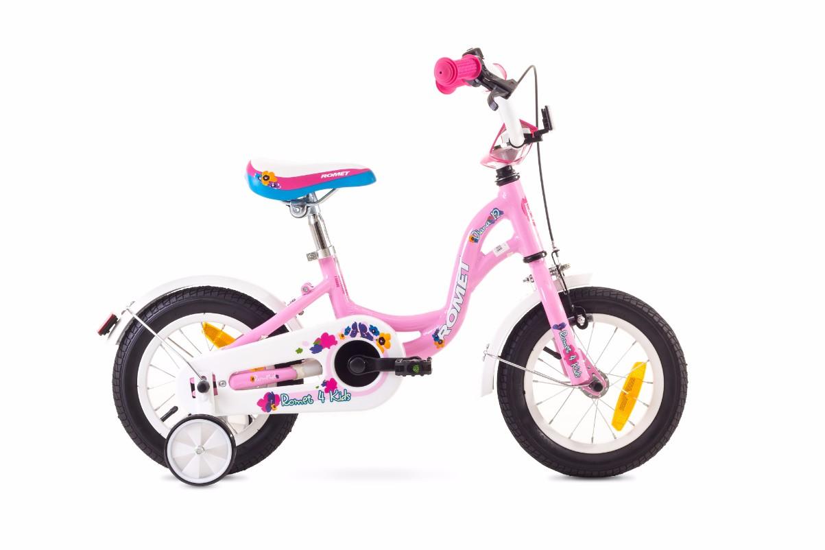 Bicicleta pentru copii Romet DIANA 12 Roz 2018 Romet