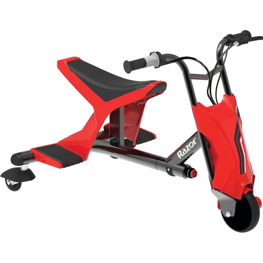 Tricicleta electrica pentru drifturi Razor Drift Rider Rosu/Negru imagine