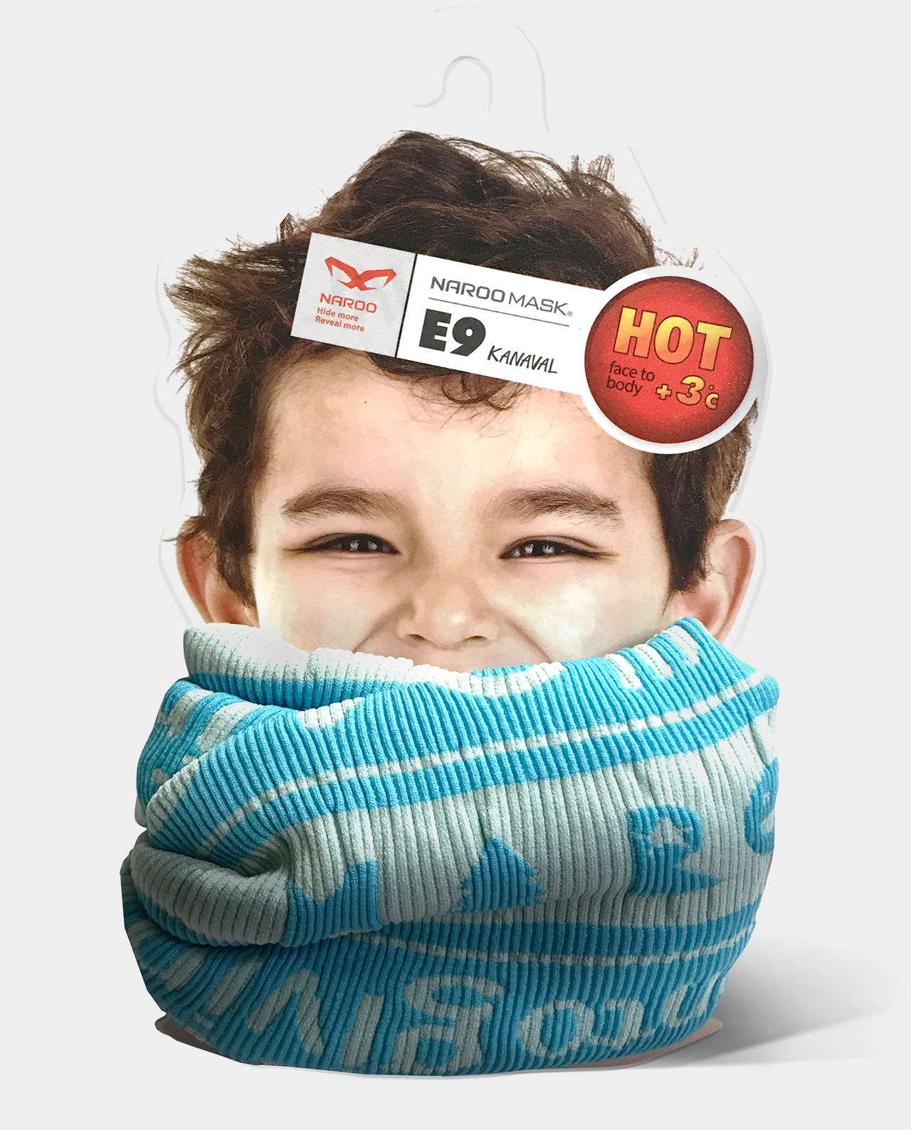 Esarfa multifunctionala pentru copii Naroo Mask E9 Kids - diverse modele imagine