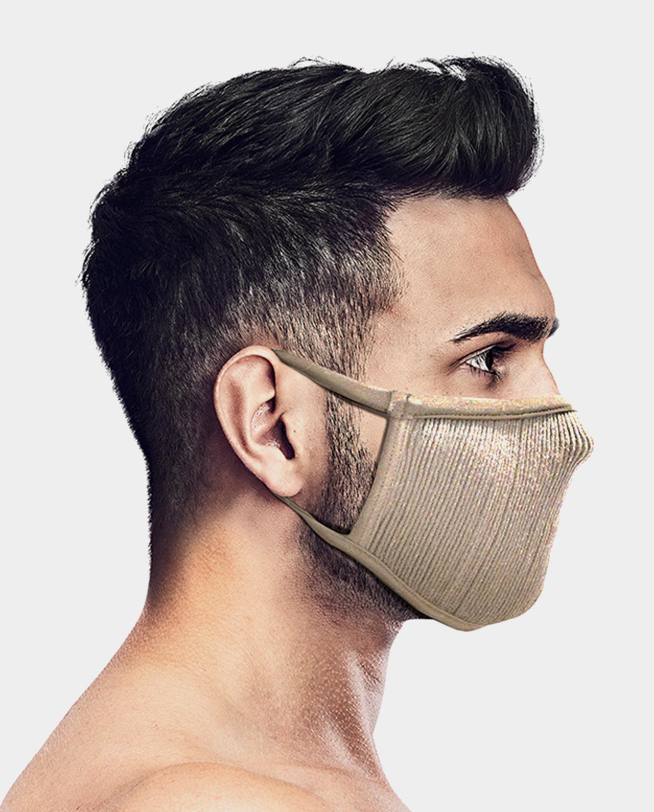 Masca pentru sportivi Naroo FU+ cu filtrare particule Bej imagine