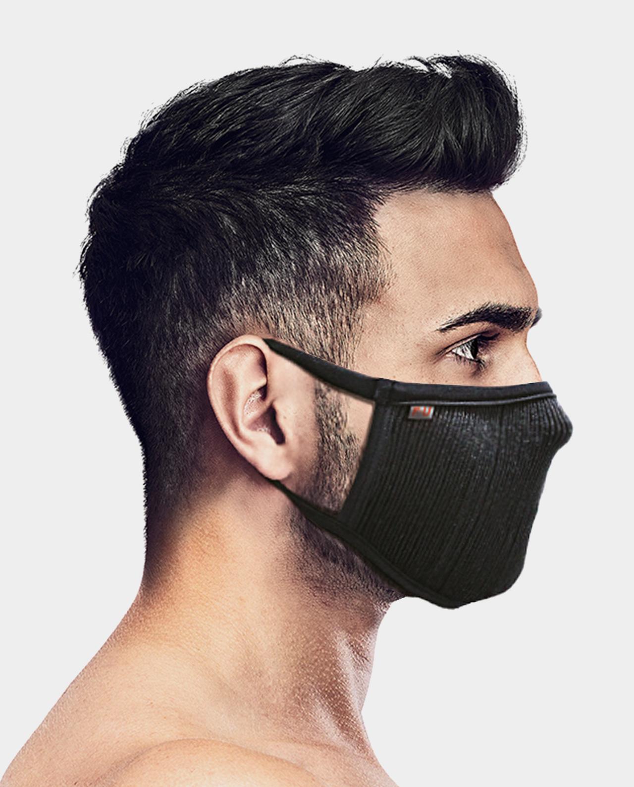 Masca pentru sportivi Naroo FU+ cu filtrare particule Negru imagine