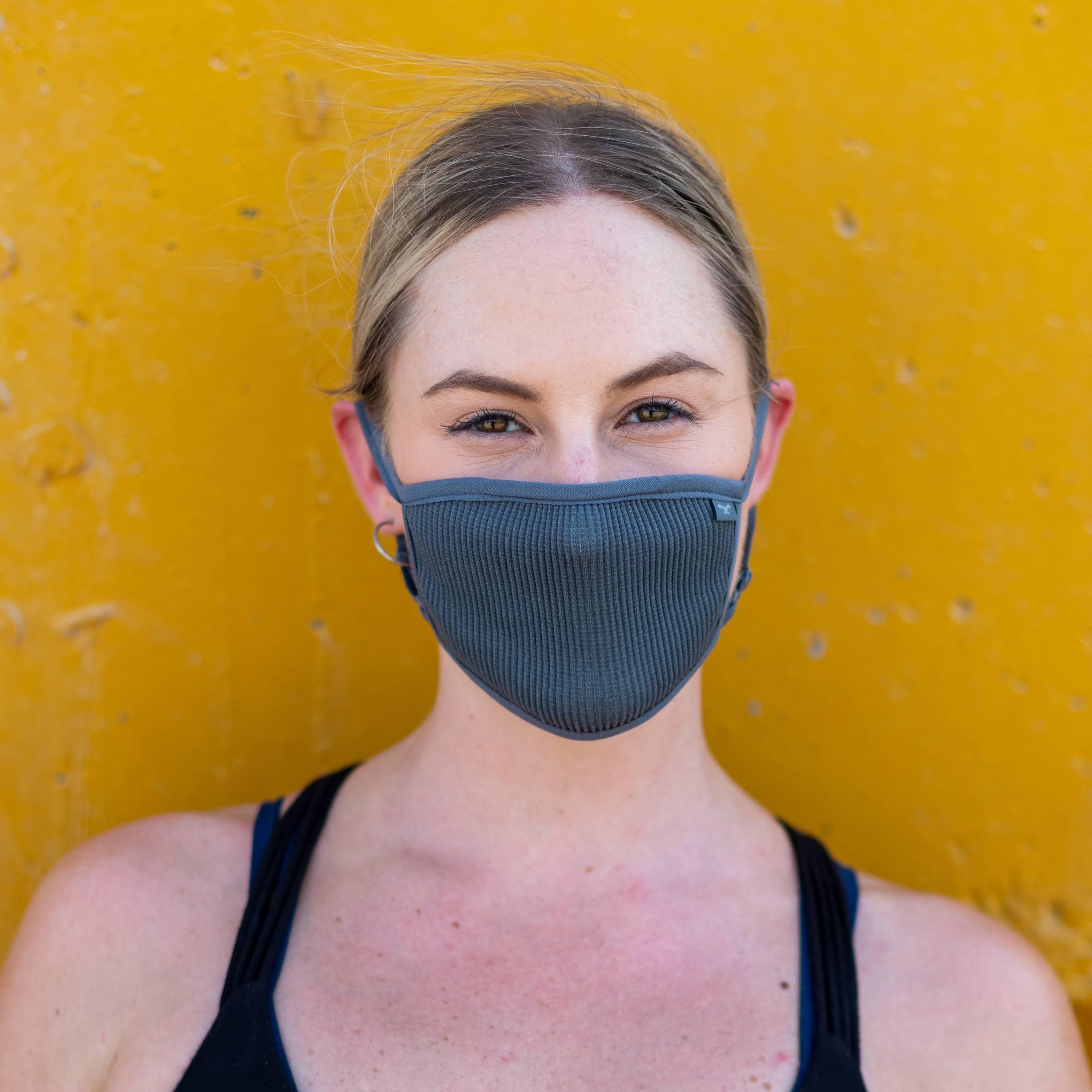 Masca pentru sportivi Naroo FU+ cu filtrare particule Gri imagine