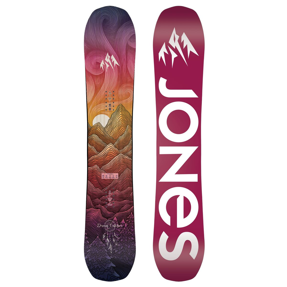 Placa snowboard femei Jones Dream Catcher 20/21 imagine