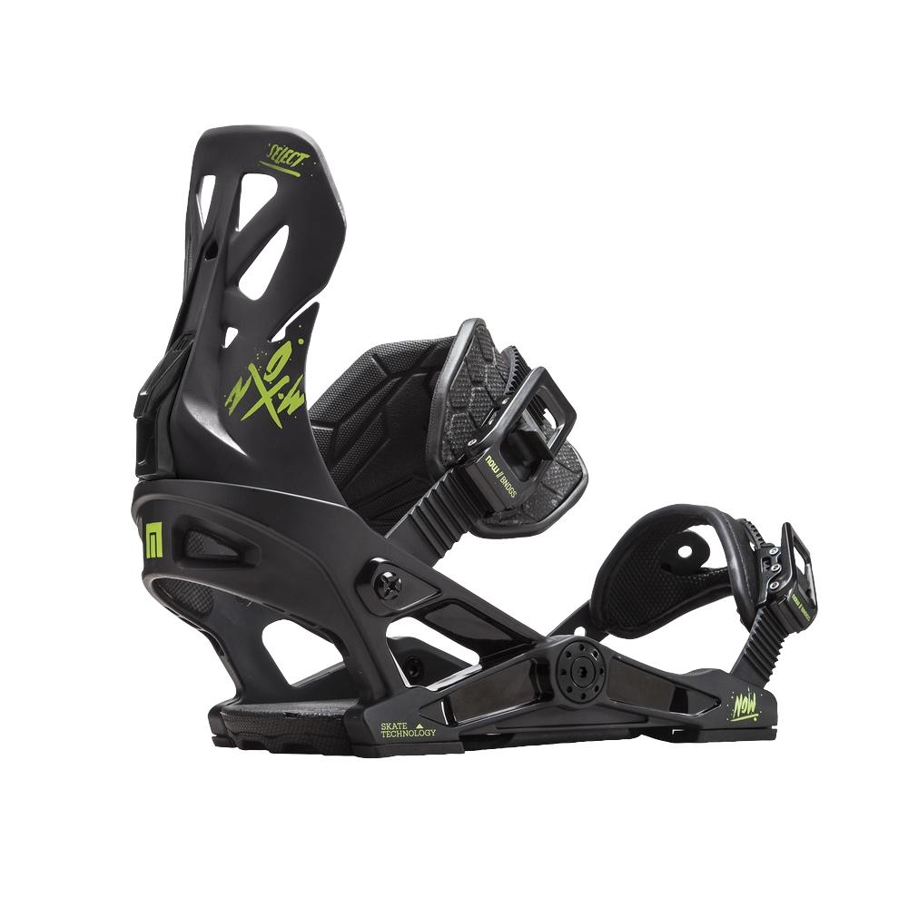 Legaturi snowboard barbati Now Select Negru 2019 imagine