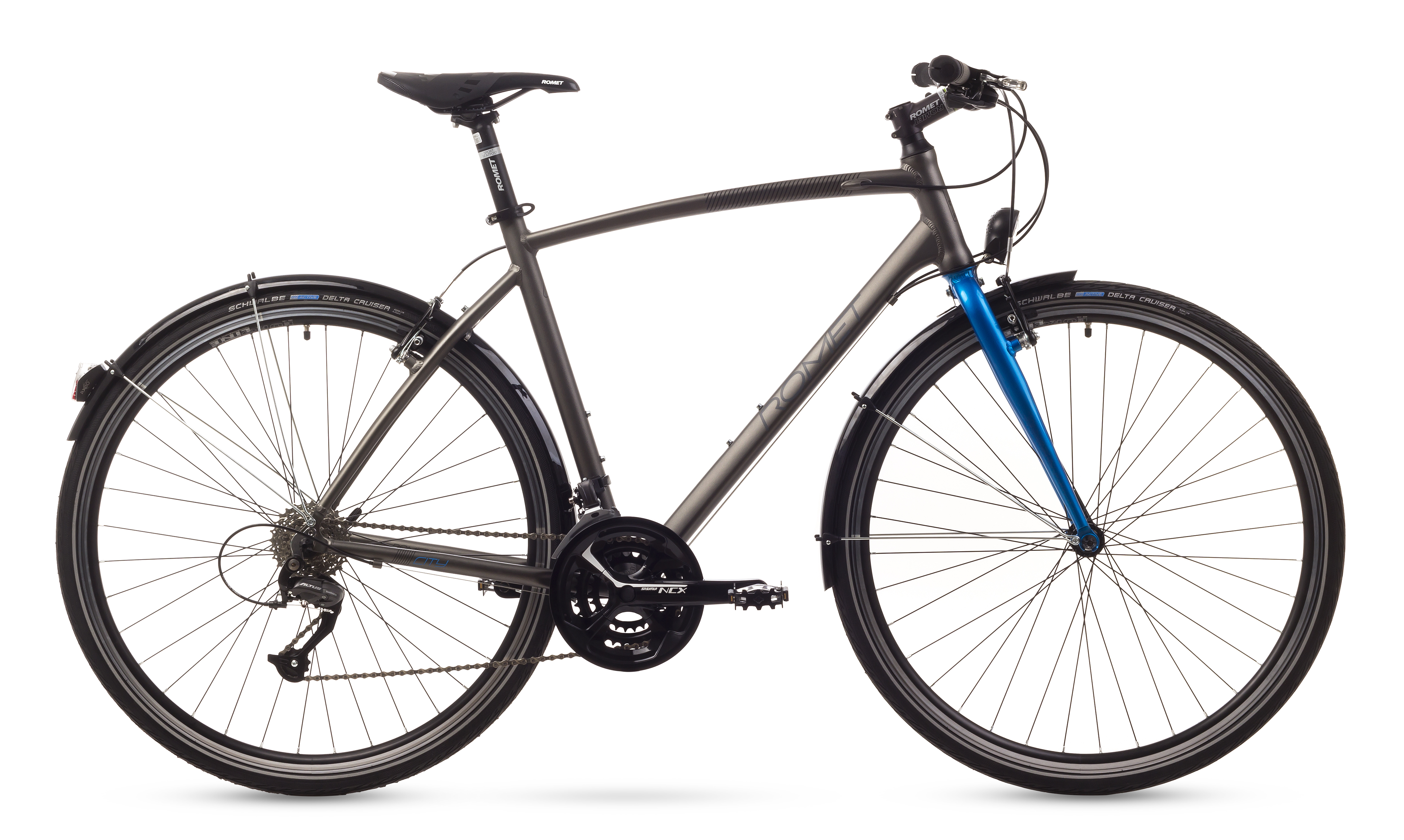 Bicicleta de oras Romet MISTRAL CITY Gri 2016 Romet