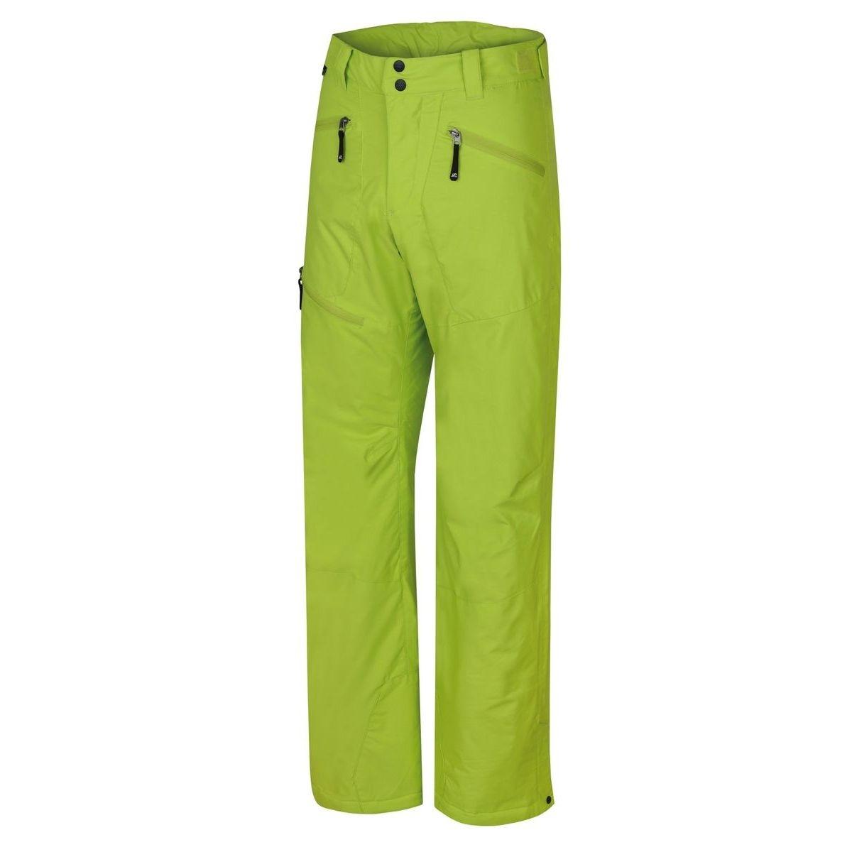 Pantaloni schi barbati Hannah Baker Verde Lime imagine
