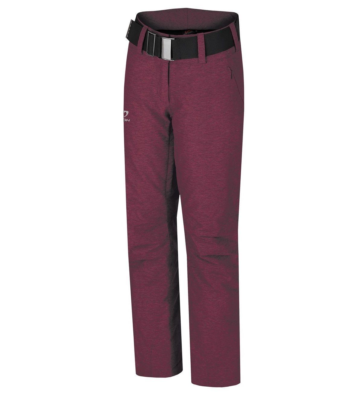 Pantaloni schi femei Hannah Darsy Visiniu imagine