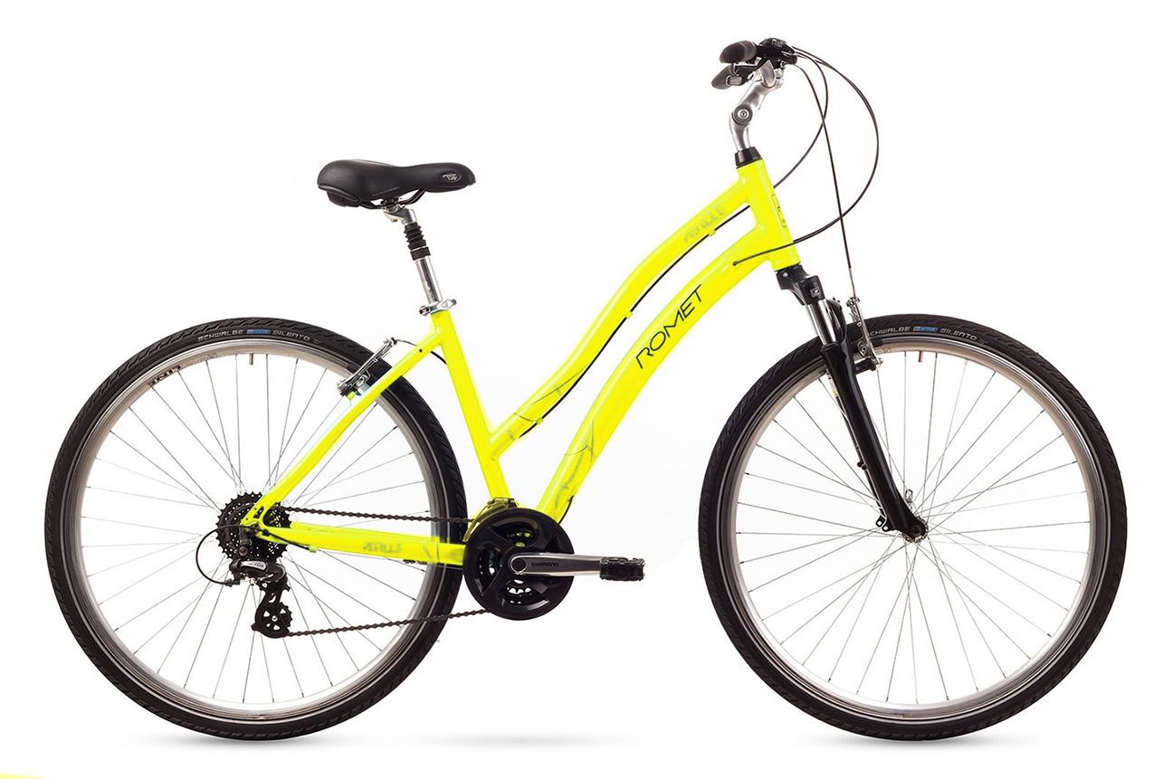 Bicicleta de oras Romet PERLLE Galben 2016 imagine