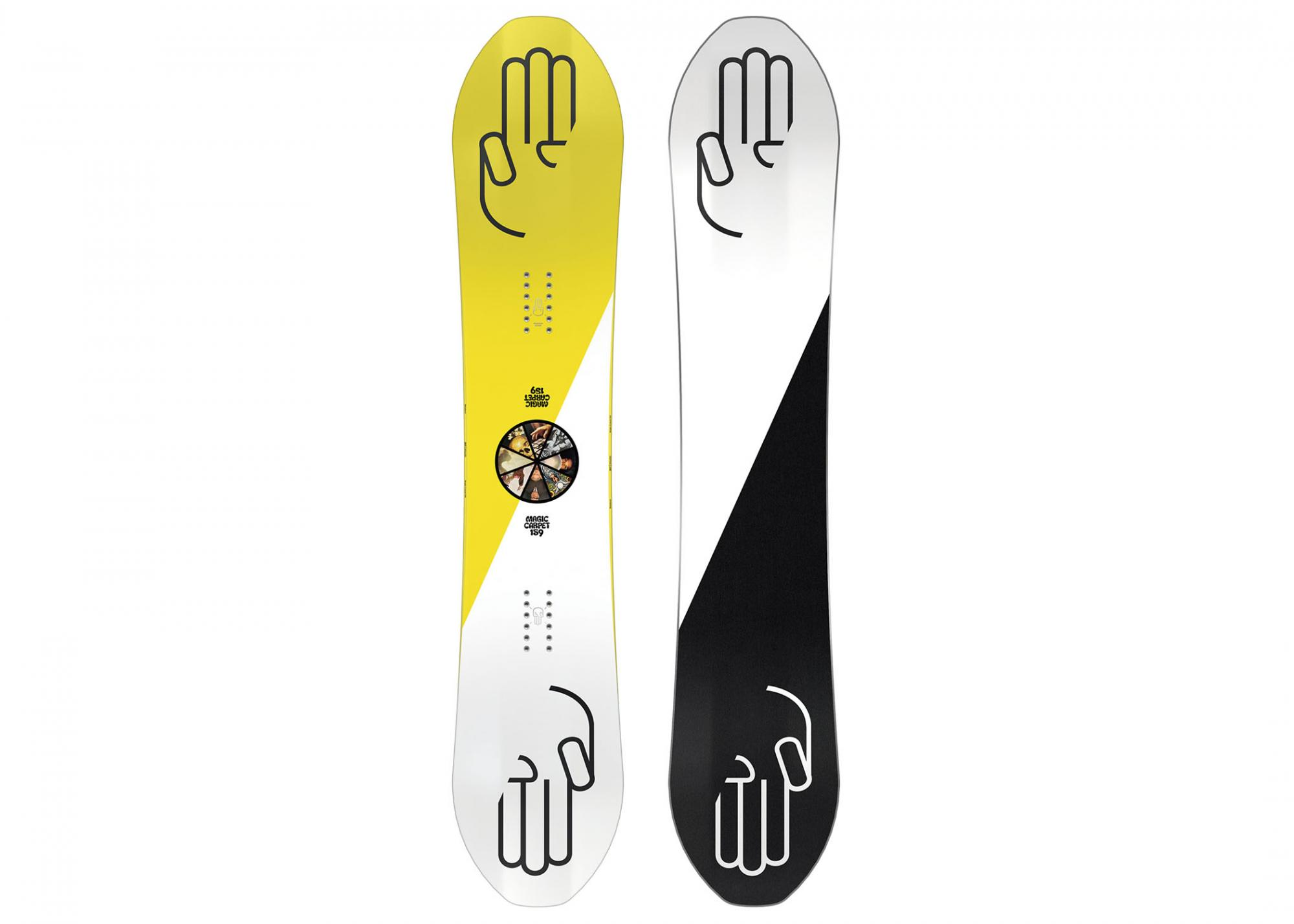 Placa snowboard barbati Bataleon Magic Carpet 20/21 imagine