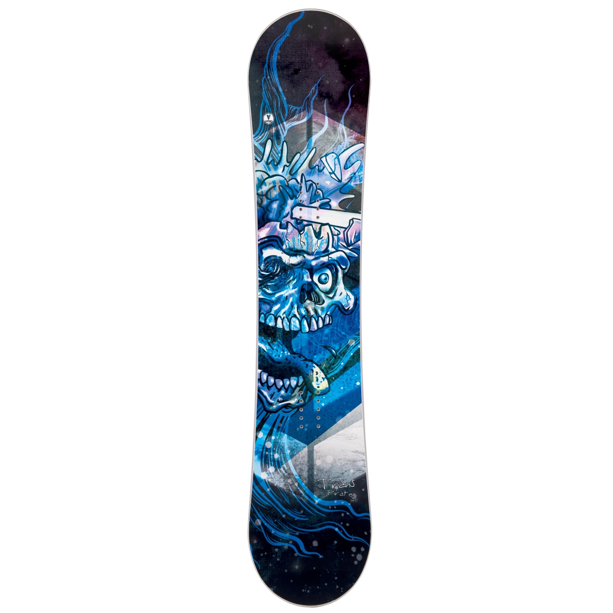 Placa snowboard copii Trans Pirate JR Fullrocker Albastru 2019 imagine