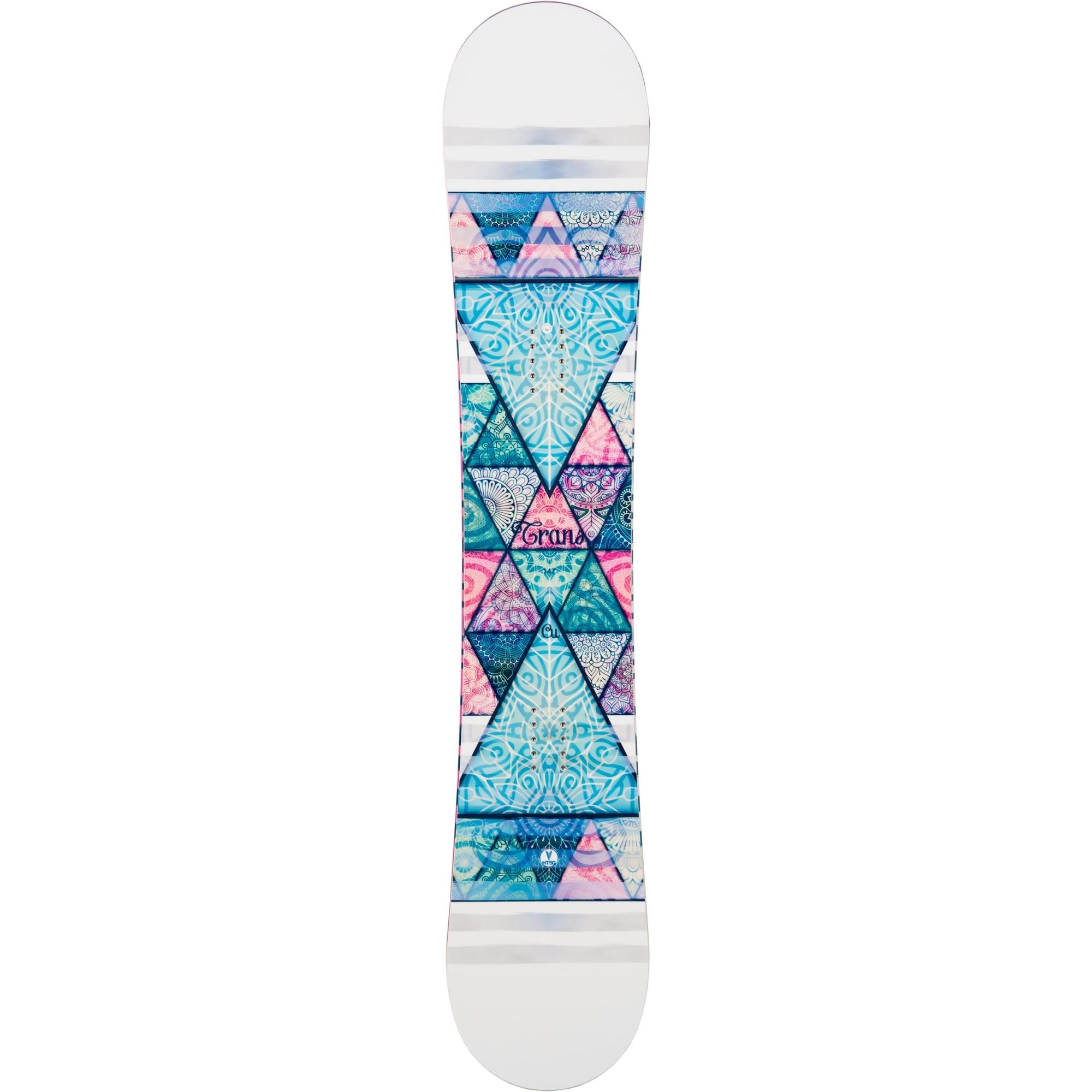 Placa snowboard unisex Trans Variorocker Alb 2019 imagine