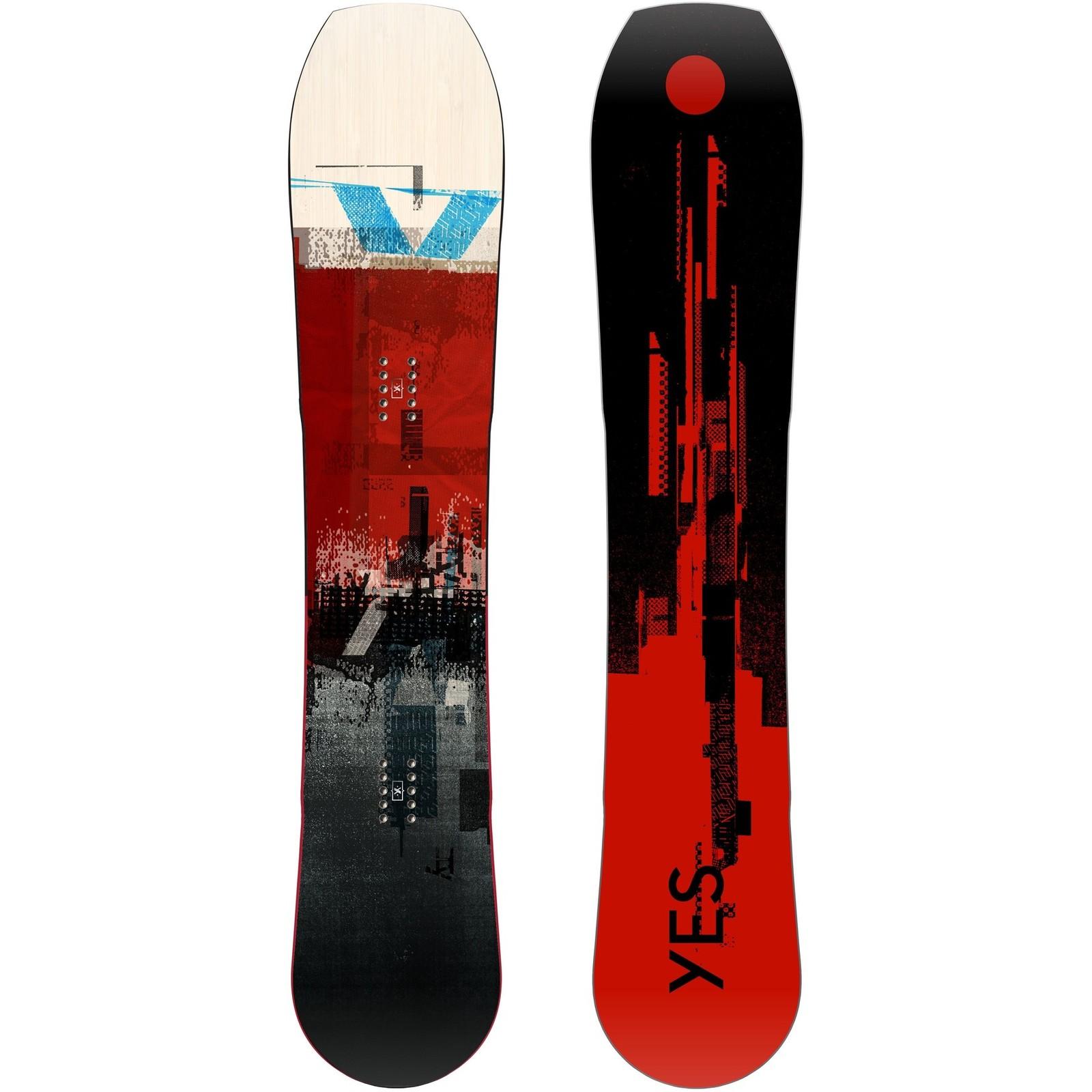 Placa snowboard barbati Yes Hybrid 20/21 imagine