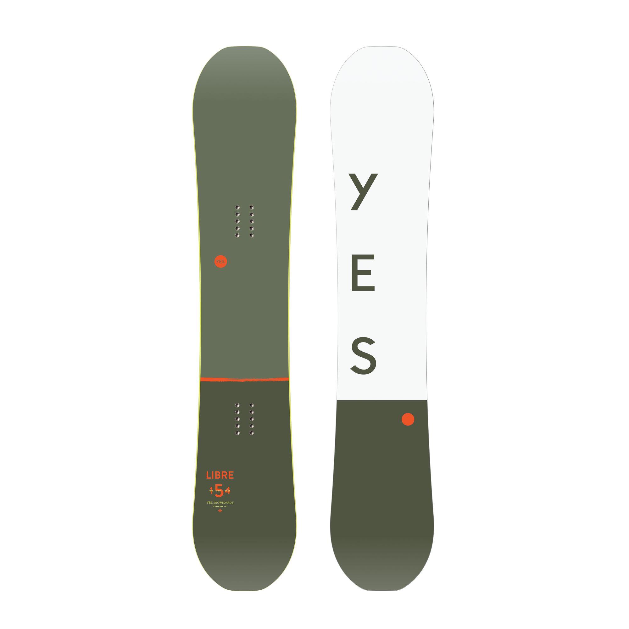 Placa snowboard Freestyle pentru barbati YES Libre 2020 imagine