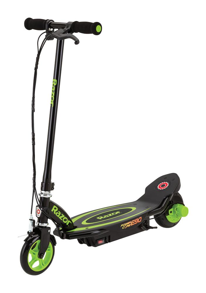 Trotineta electrica pentru copii 8+ ani Razor Power Core E90 Negru/Verde imagine