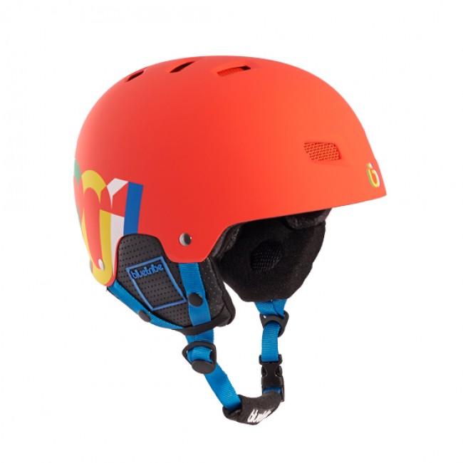 Casca schi/snow Blue Tribe Rider Red imagine