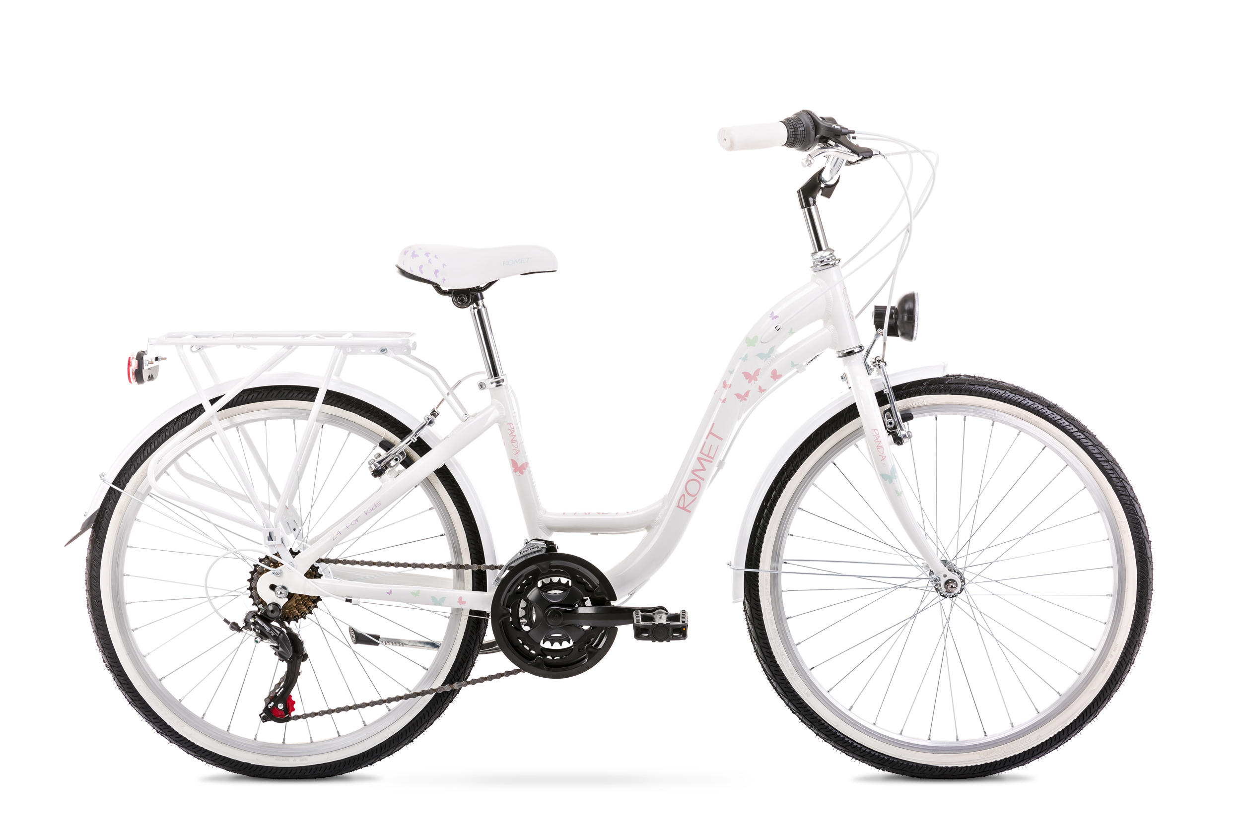 Bicicleta pentru copii Romet Panda 1.0 Alb 2020 imagine