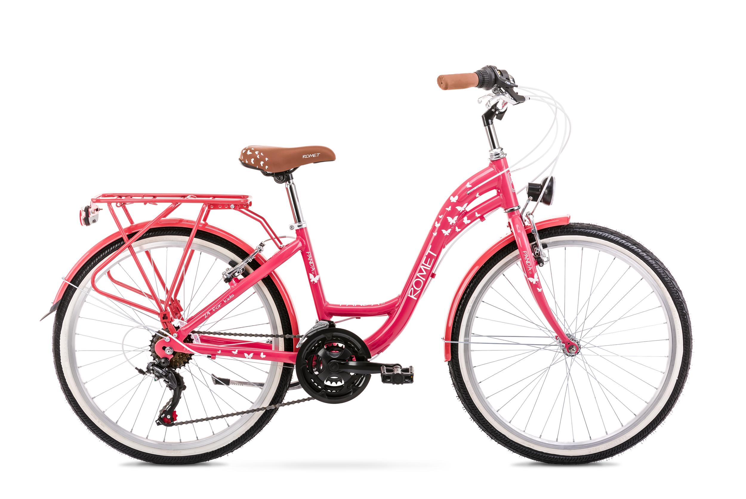 Bicicleta pentru copii Romet Panda 1.0 Roz 2020 imagine