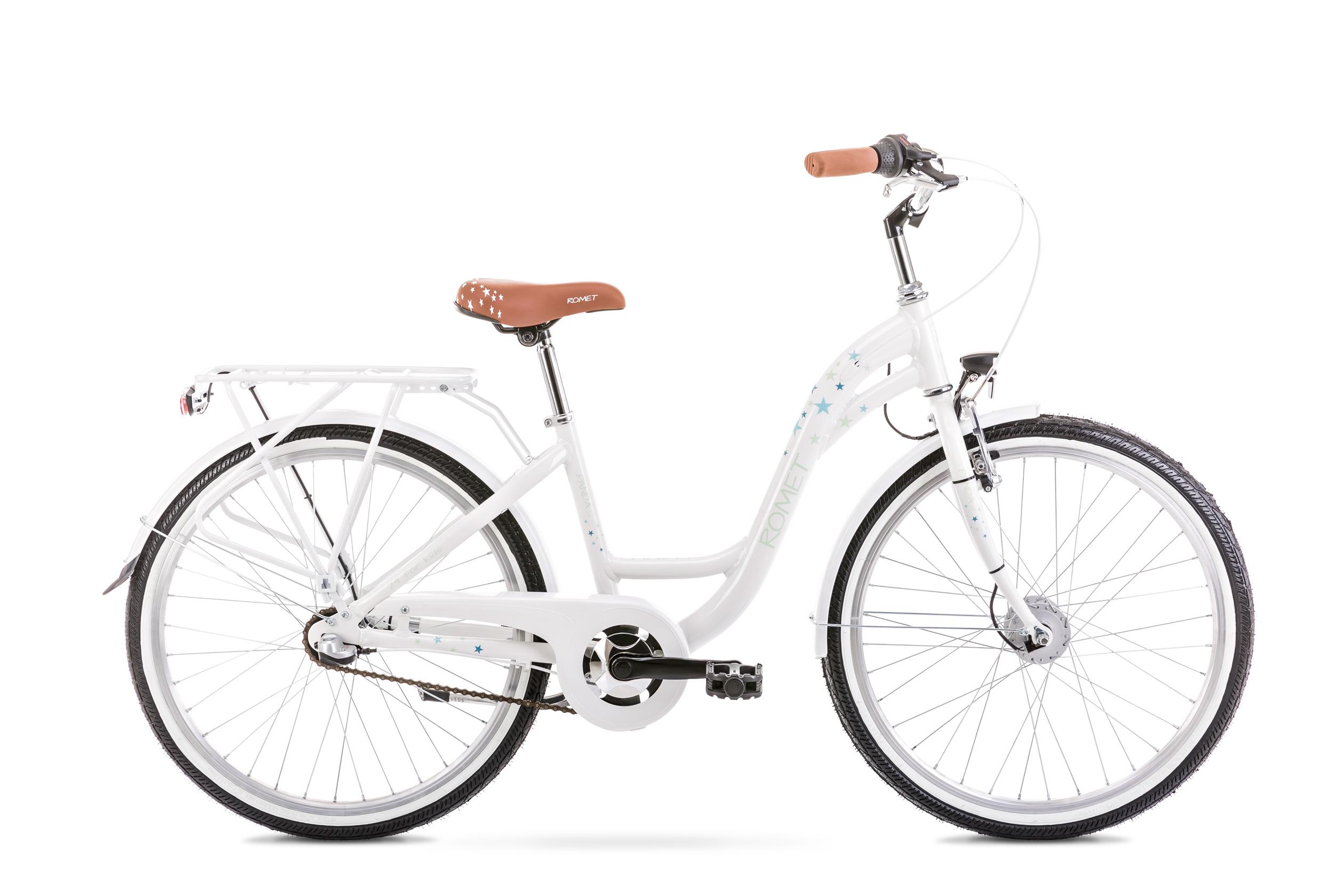 Bicicleta pentru copii Romet Panda 2.0 Alb 2020 imagine