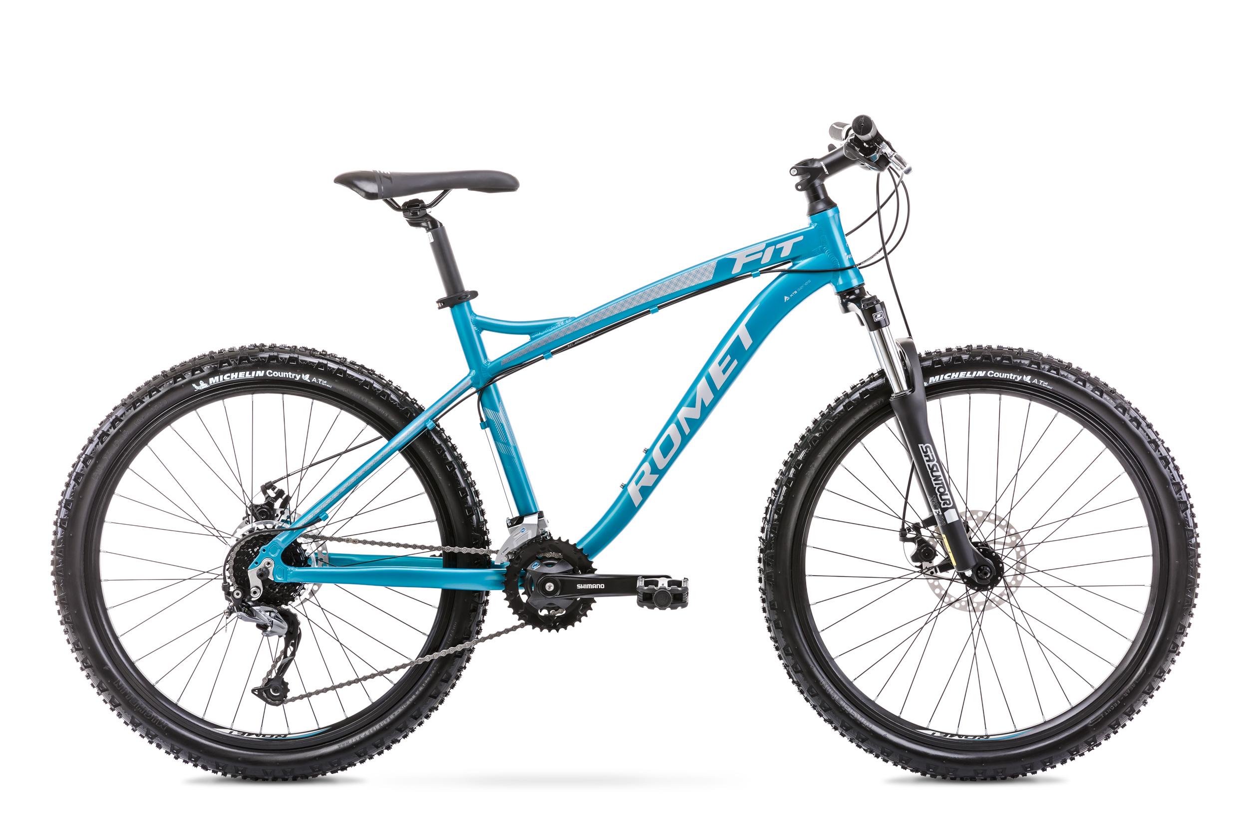 Bicicleta de munte unisex Romet Rambler Fit 26 Albastru 2020 imagine