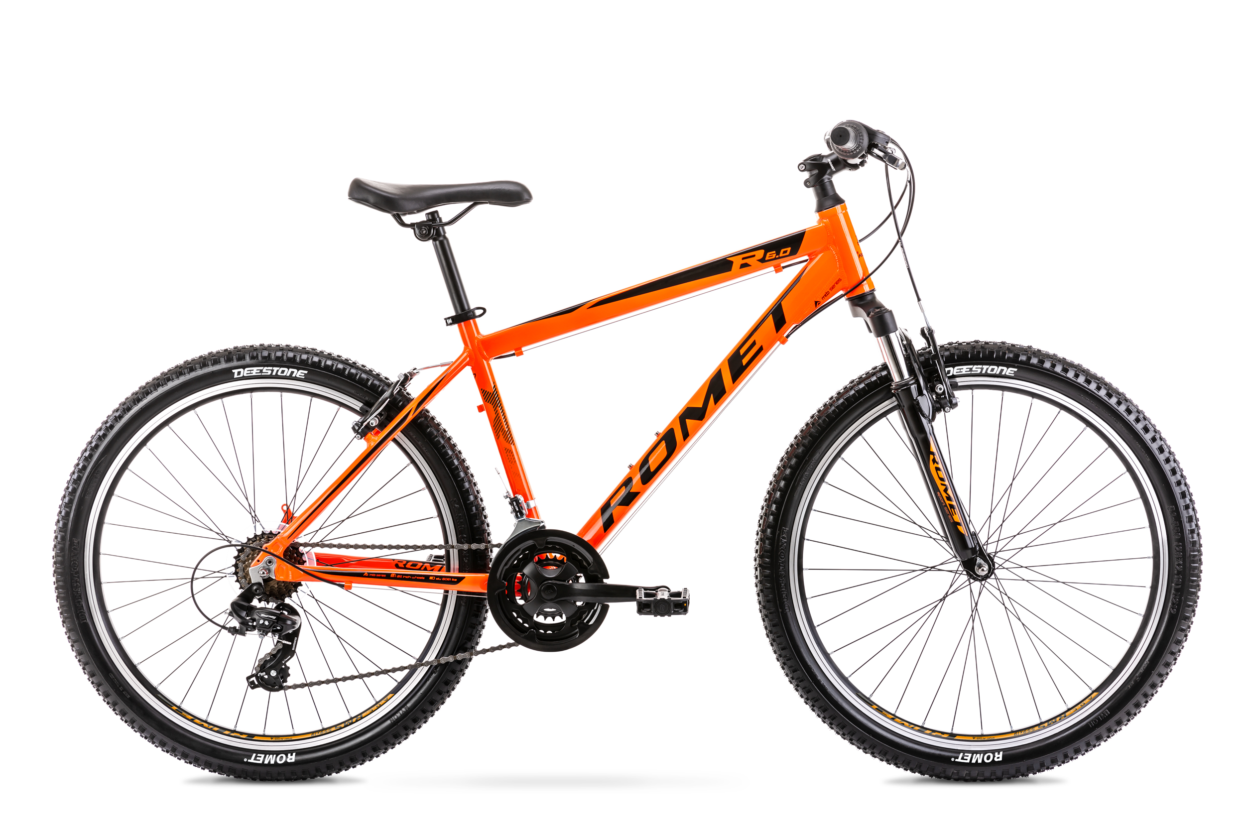 Bicicleta de munte pentru barbati Romet Rambler R6.0 Portocaliu 2020 imagine