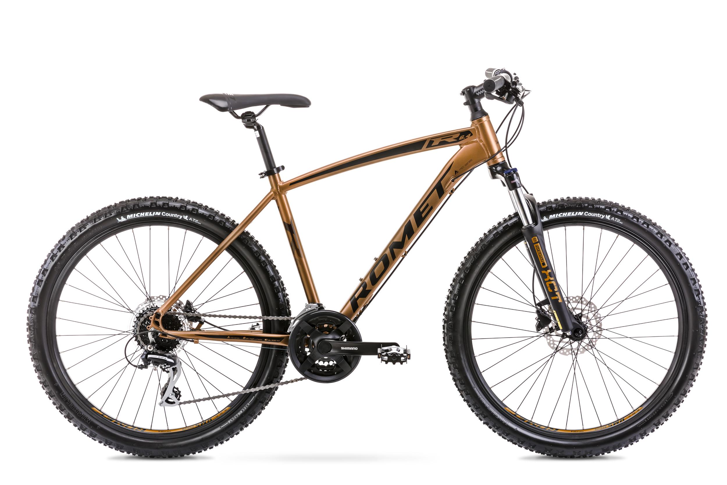 Bicicleta de munte pentru barbati Romet Rambler R6.4 Auriu 2020 imagine