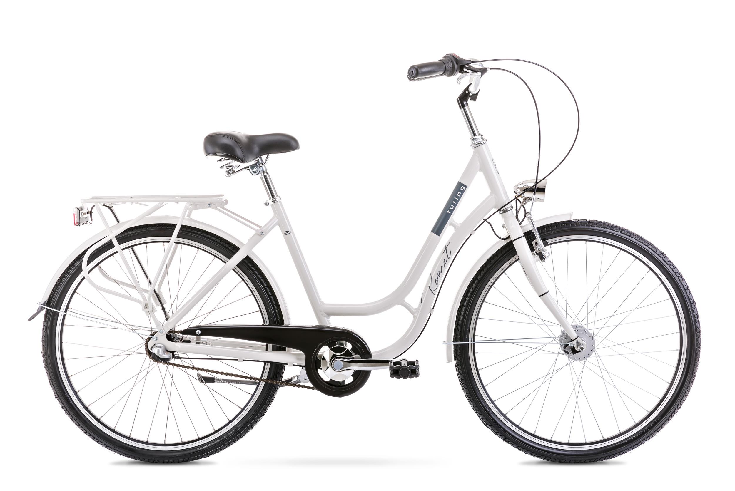 Bicicleta de oras pentru femei Romet Turing 3S Gri 2020 Romet