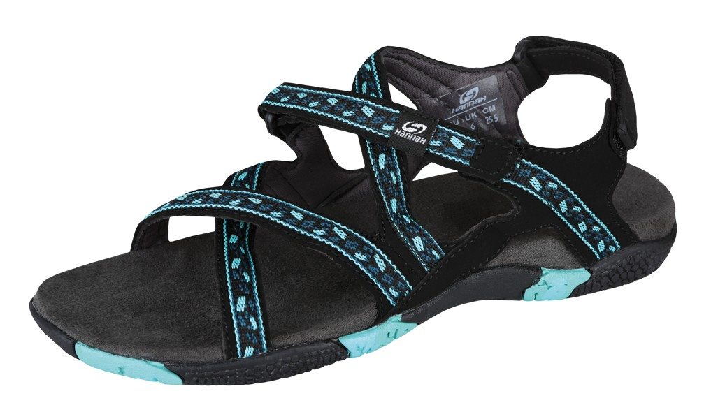 Sandale femei Hannah Fria Turcoaz imagine