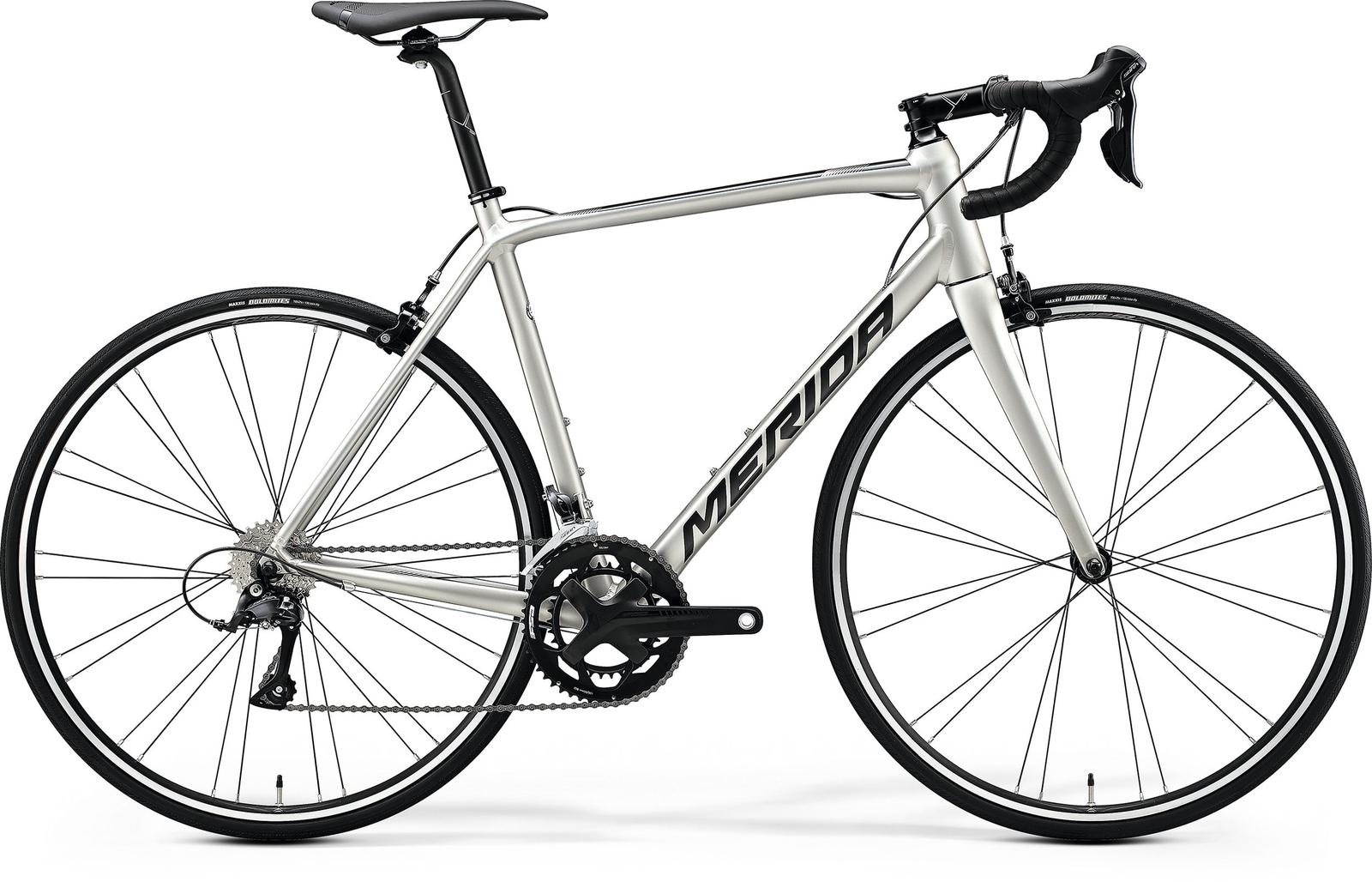 Bicicleta de sosea Merida Scultura 200 Titan/Negru 2020 imagine