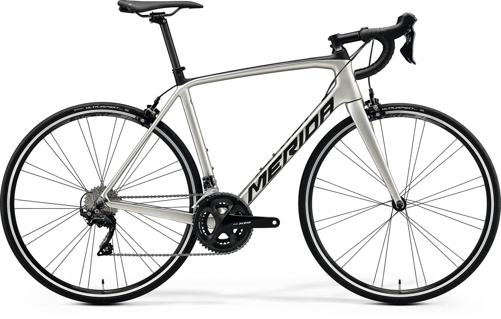 Bicicleta de sosea Merida Scultura 4000 Titan/Negru 2020 imagine
