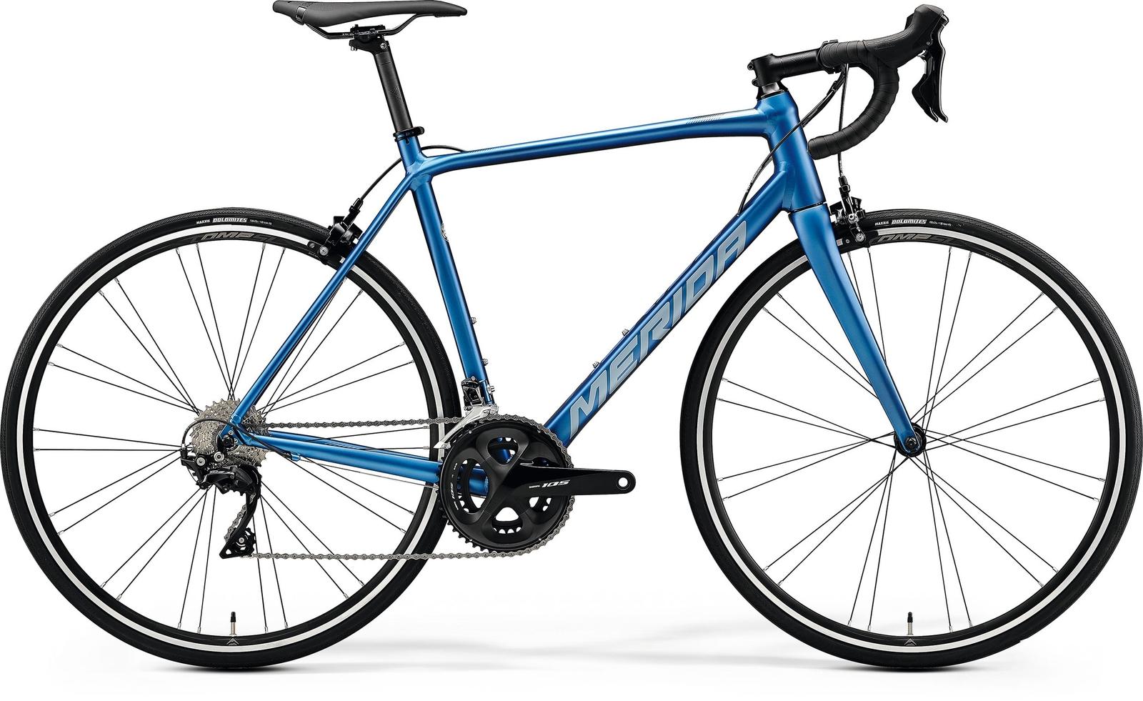 Bicicleta de sosea Merida Scultura 400 Albastru/Argintiu 2020 Merida