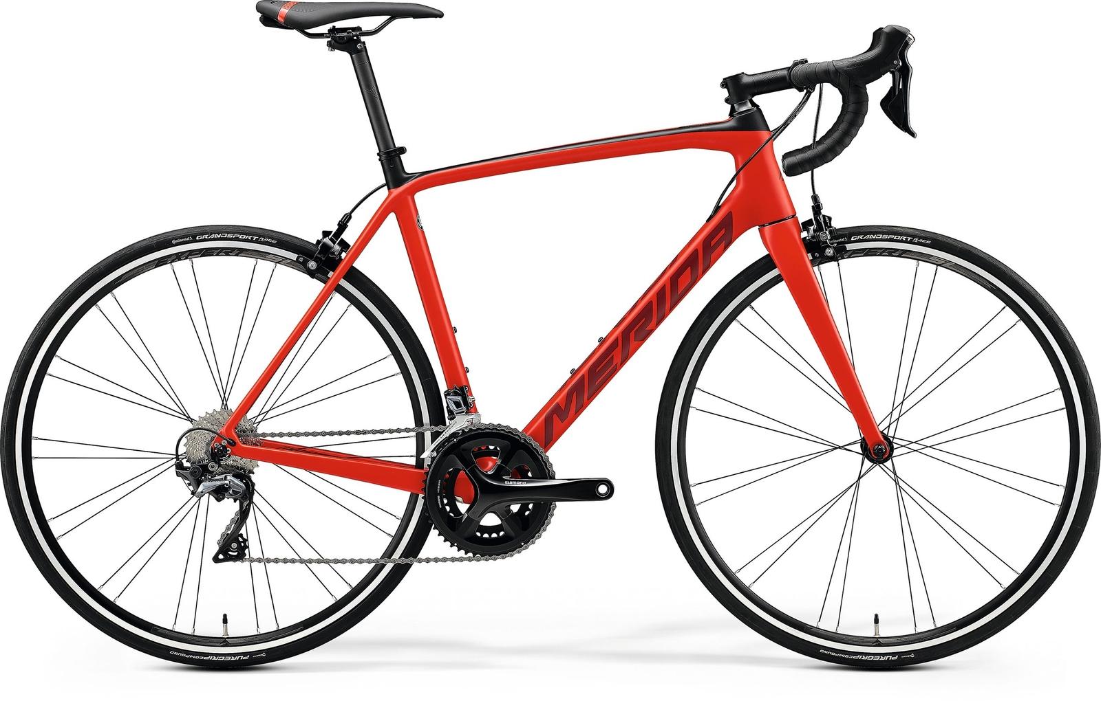 Bicicleta de sosea Merida Scultura 5000 Rosu/Negru 2020 imagine