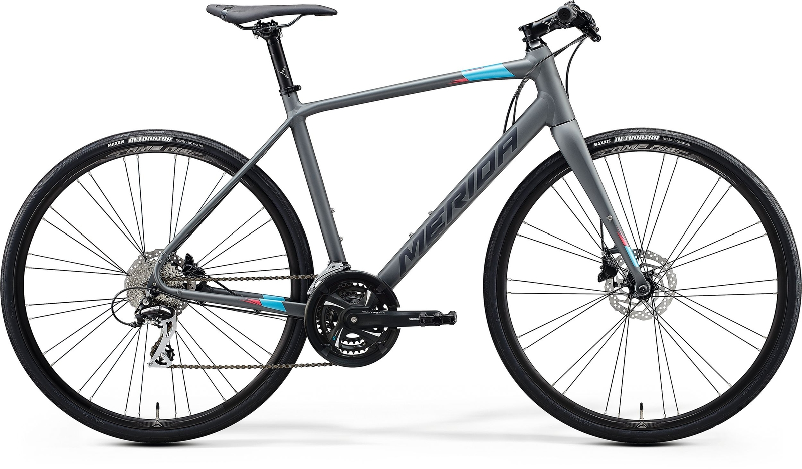 Bicicleta de sosea barbati Merida Speeder 100 Gri/Albastru 2020 imagine