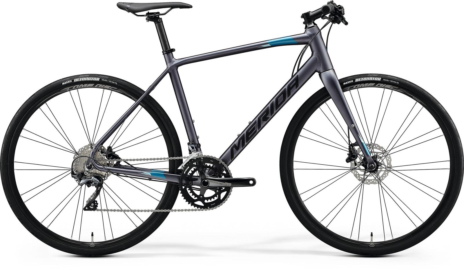 Bicicleta de sosea barbati Merida Speeder 500 Antracit/Negru 2020 imagine