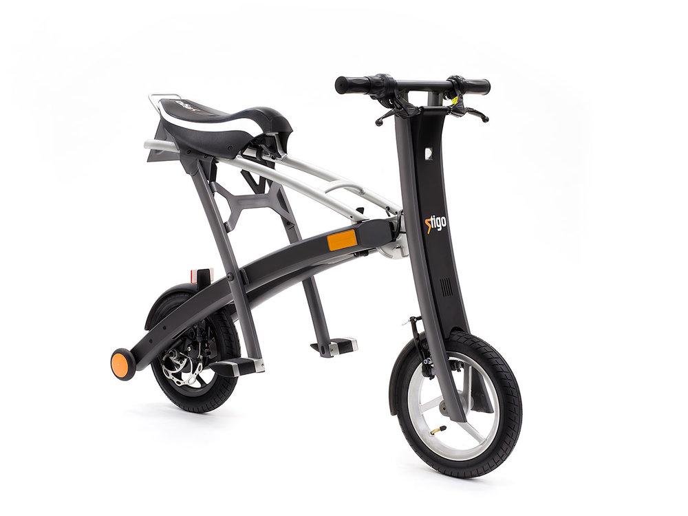 Scooter Electric Pliabil Stigo Plus imagine