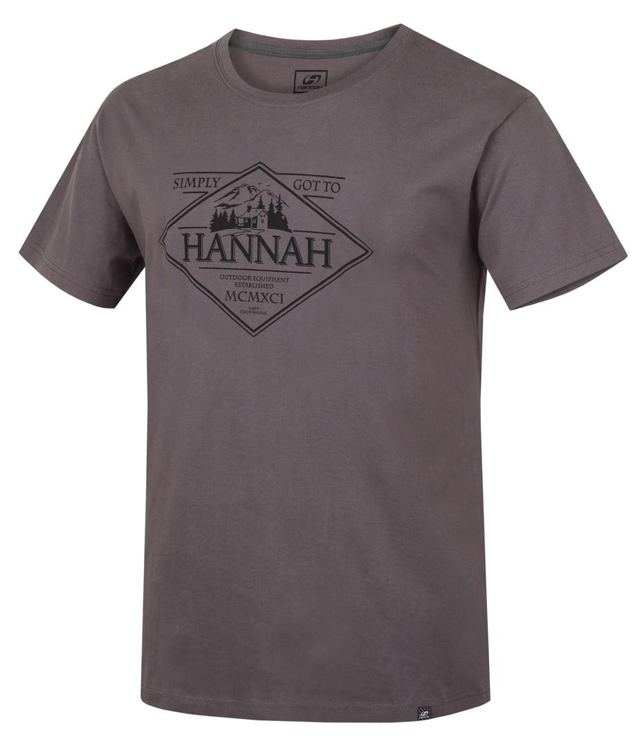 Tricou barbati Hannah Coal II Gri deschis 2017 imagine