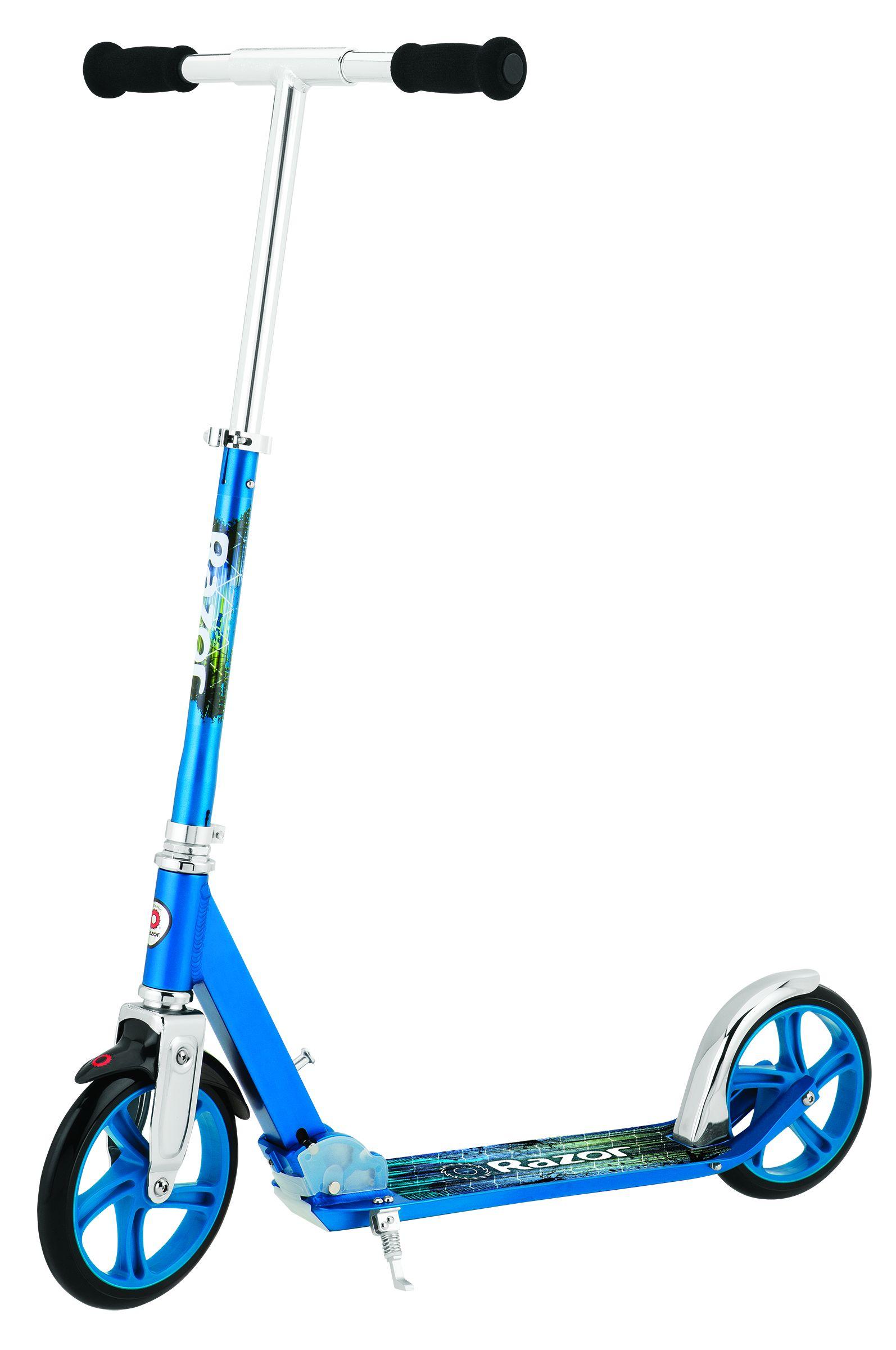 Trotineta pliabila cu roti mari adulti Razor A5 Lux Albastru imagine