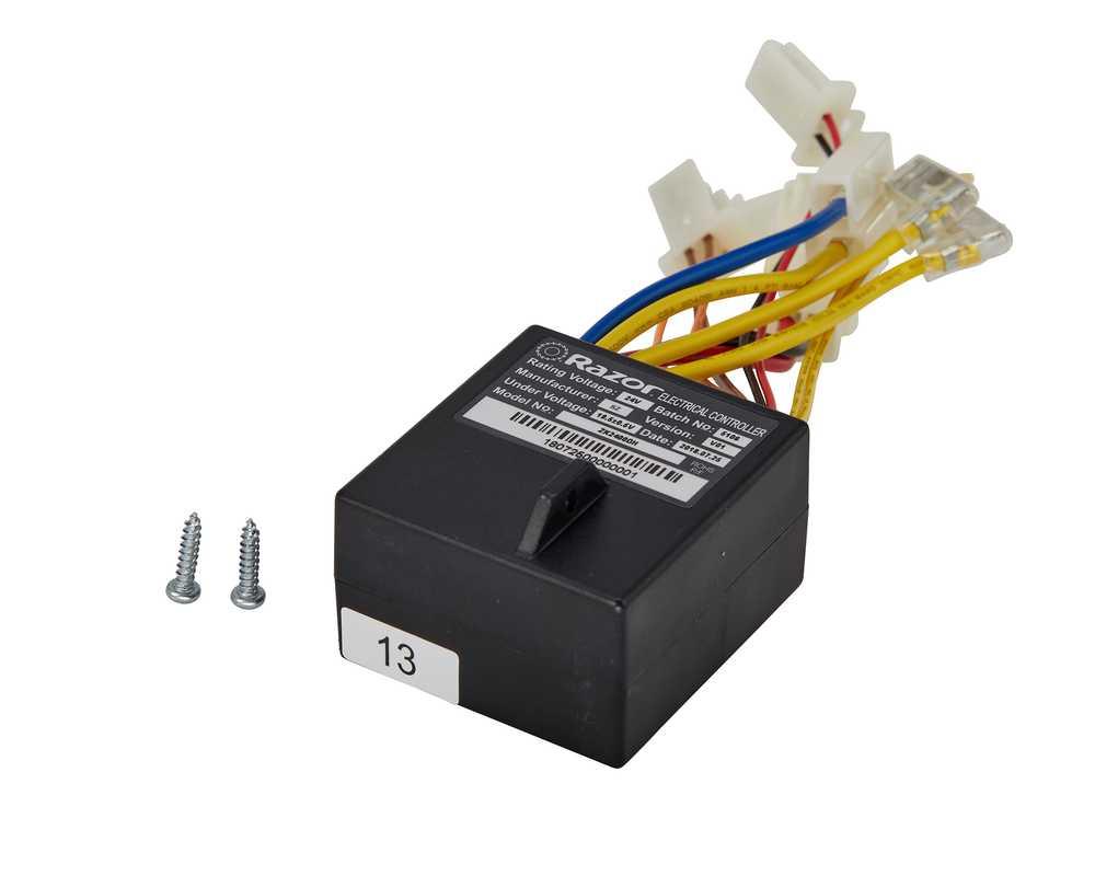 Controller Razor E100 Power Core cu conector 7 pini imagine